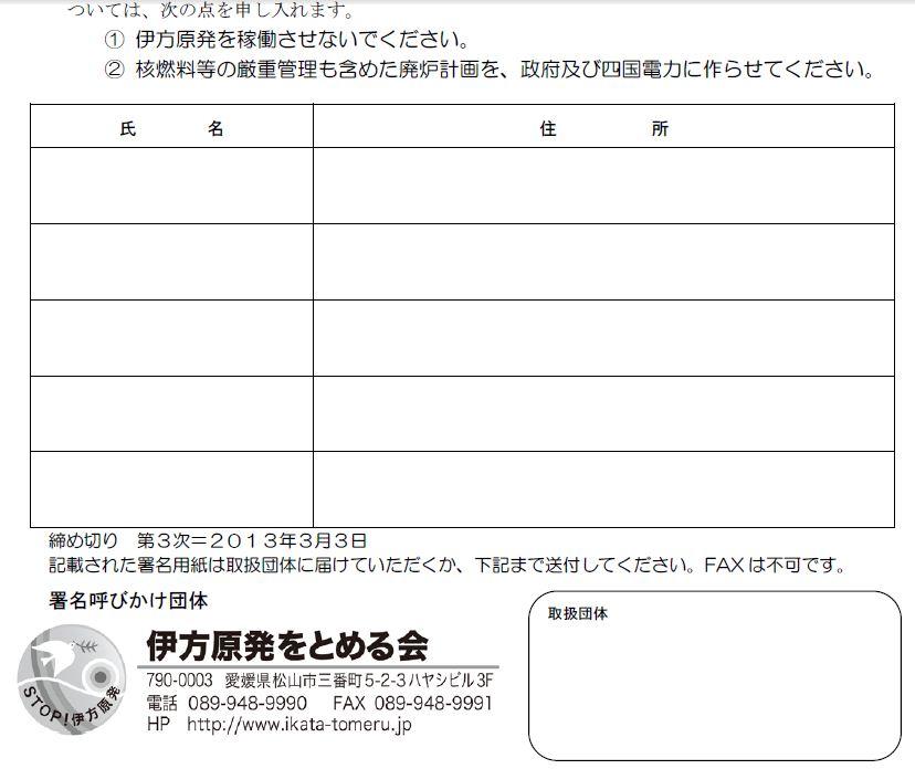 署名14万5,705筆に到達。3次締切を3月3日に。