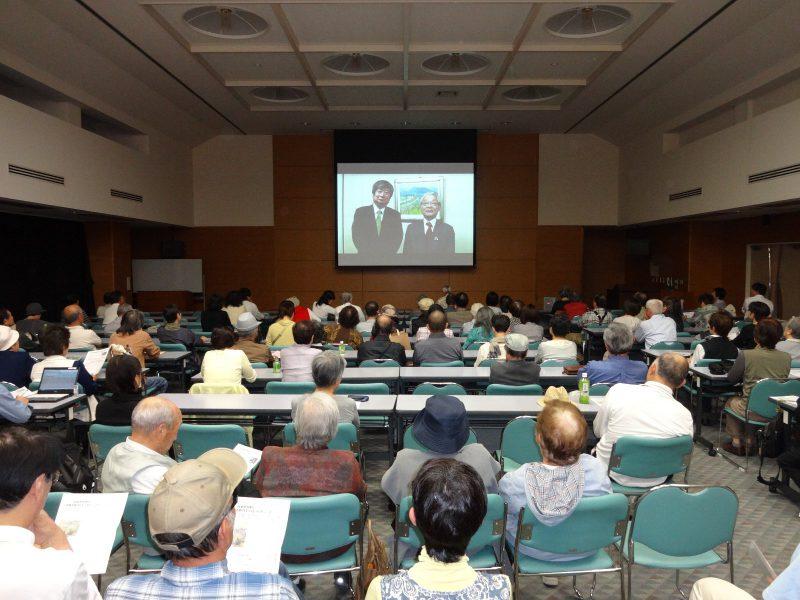 「日本と原発」上映に関心高く300名が視聴