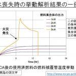 岩井氏、使用済み核燃料の火災に関する資料を追加