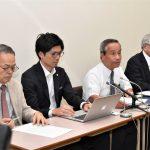 広島地裁も仮処分却下の決定 運転停止認めず とめる会は抗議の記者会見